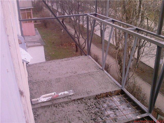 Балконы еврострой.